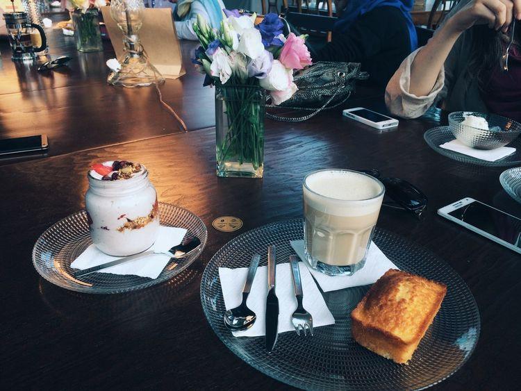 Chai Latte Cafe Time