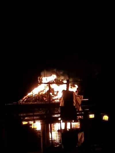 Sankt Hans No People Outdoors Night Fire Fireplace Sankt Hans Sankt Hans Bonfire Unfiltered Unedited Bonfire🔥 Bonfire Lake Lake Fire Lake Fireworks Illuminated