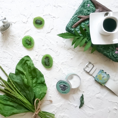 Green Color Coffee Cup Indoors  Coffee - Drink Healthy Eating No People Flatlay Flatlayphotography
