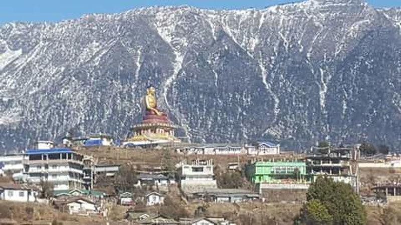 My hometown Tawang.