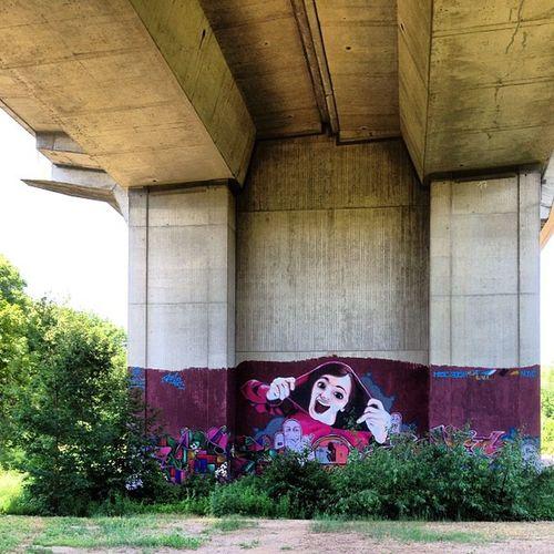 I really like this one Graffiti Bridge Highway Girl Scared Scream Itwasnotme