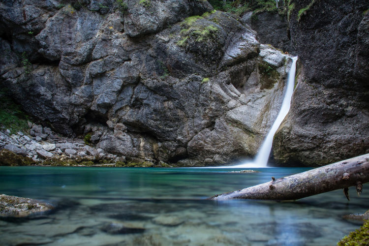 Buchenegger Wasserfälle Wanderlust Beauty In Nature Day Long Exposure Nature No People Outdoors Water Waterfall Waterfalls