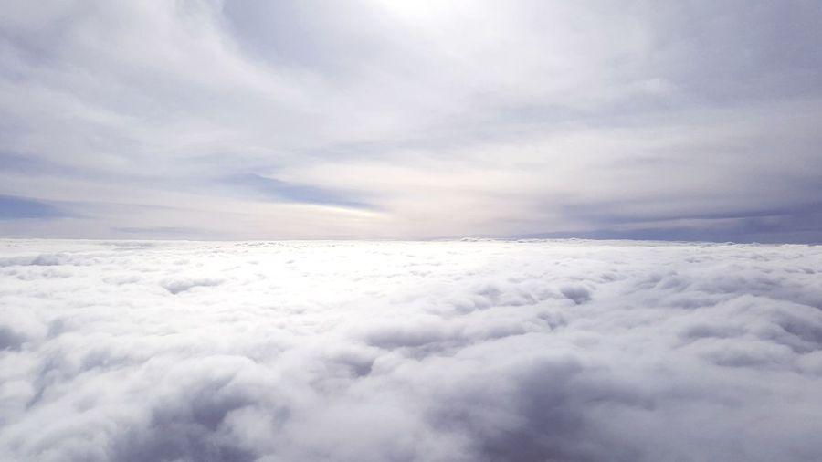 Scenic view of cloudscape in sky