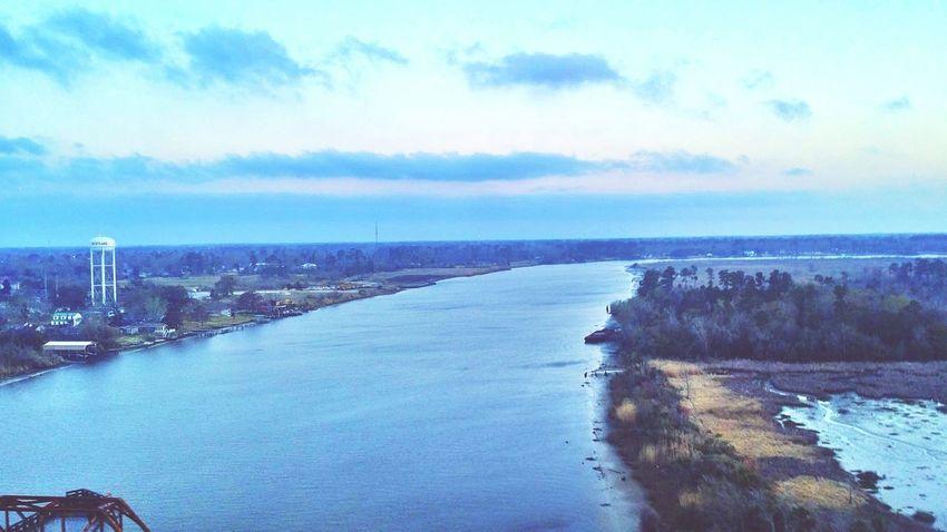 Lake Charles Louisiana Sunrise Bridgesaroundtheworld