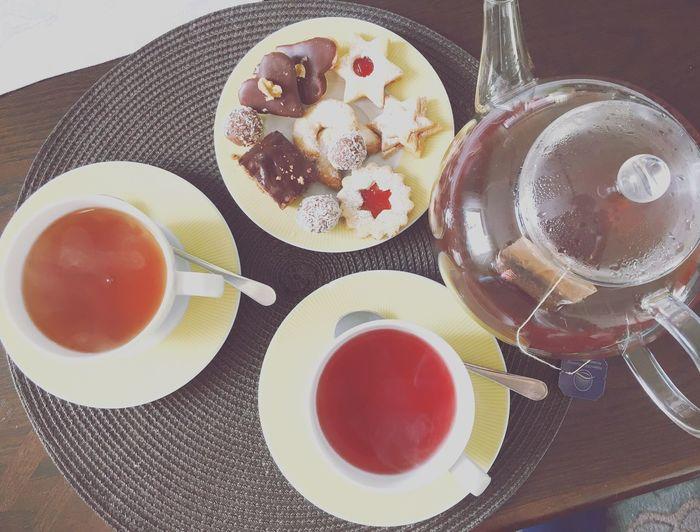 Tea Time ChristmassWeihnachtencCookiesokies l