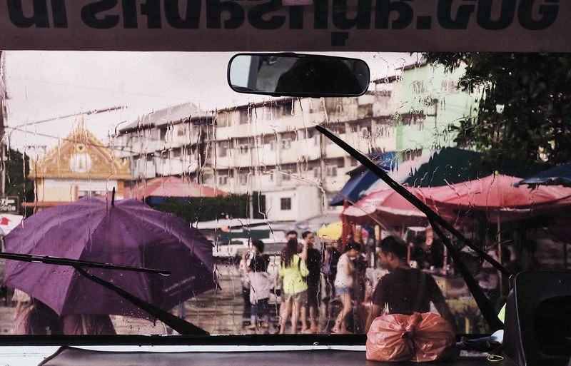 Transportation Mode Of Transportation Car Architecture Windshield City Glass - Material Day Travel Rain Close-up Transparent Street Outdoors