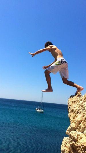 Cliffs CliffJumping Crissangel Summer Veryhigh Swimming