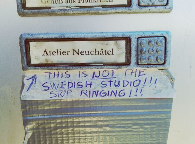 These are not the Swedish Doorbells you are looking for.