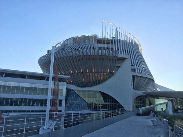 Montreal Casino Architecture Built Structure Building Exterior Clear Sky Low Angle View No People Outdoors City Day Modern Sky City Montreal Canada Summer Popular Photos Fun Architecture_collection Photography