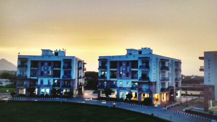 Sun rise in JSW, Raj West Power colony.....camera nikkon