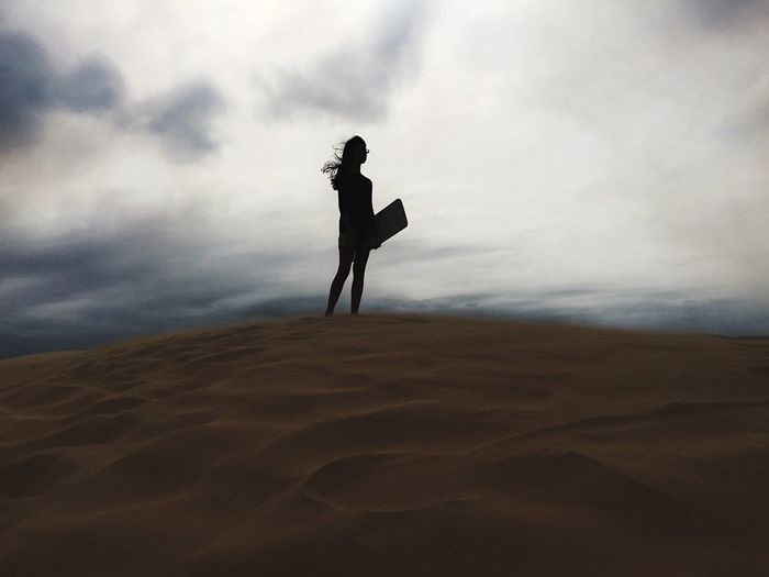 • I see a silhouette • Check This Out Hello World Taking Photos Enjoying Life Sand Dune Sand Boarding Sand Silhouette Silhouettes Sillouette Silouette & Sky Silhouette_collection Showcase April Hello World The KIOMI Collection The Great Outdoors - 2016 EyeEm Awards The Great Outdoors With Adobe TCPM