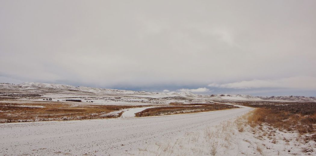 Wyoming landscape The Way Forward Vanishing Perspective Wyoming Landscape Wyoming Snow Cold Temperature Scenics - Nature Winter Nature Tranquility Landscape Beauty In Nature Day No People Sky Tranquil Scene Non-urban Scene Environment Outdoors Road Land Mountain Transportation Snowcapped Mountain