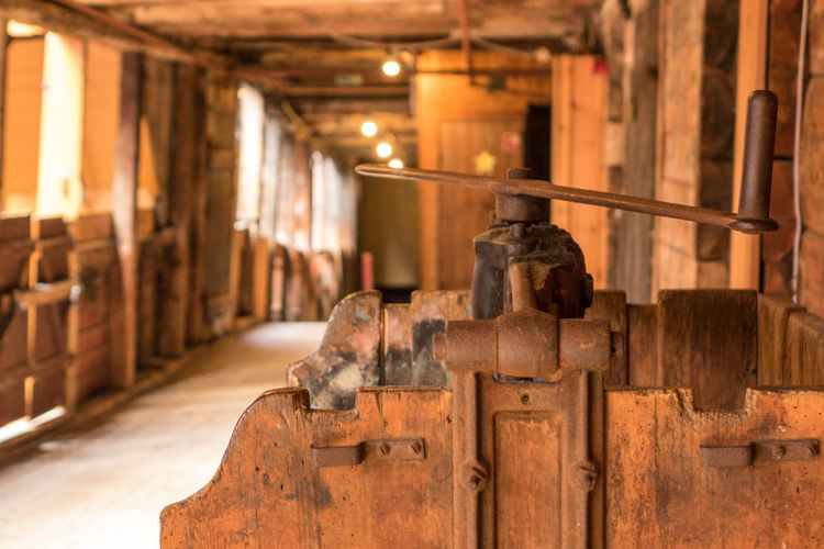 Indoors  Focus On Foreground No People Architecture Wood - Material Old Industry Art And Craft Metal In A Row Day Built Structure Building Rusty Domestic Room History The Past Place Of Worship Close-up Bryggen Bryggen I Bergen