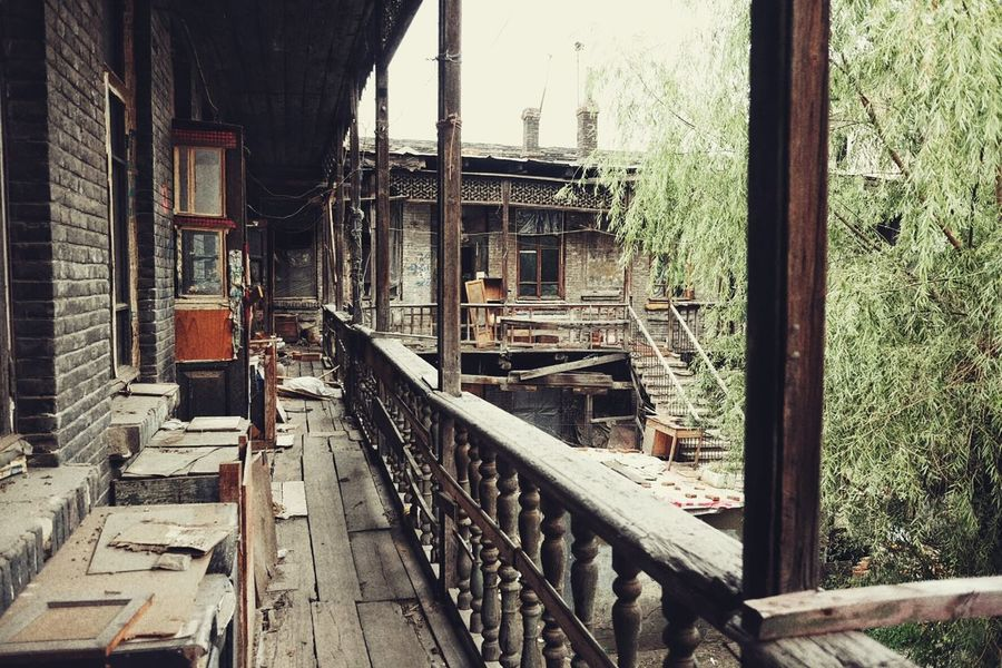 哈尔滨道外北二道街10 Street Photography Street Documentary Photography Documentary Old Buildings Buildings Harbin China 哈尔滨
