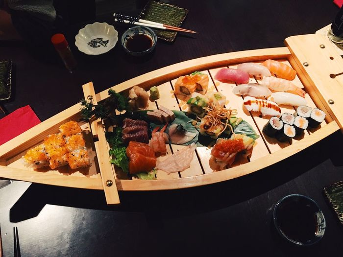 Asian Culture Boat Culture Eating Food Food And Drink Healthy Eating Healthy Lifestyle Japanese Food Seafood Sushi