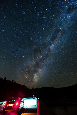 Driving into space Australian Landscape No Light Pollution Standing Astronomy Astrophotography Beauty In Nature Car Galactic Center Galaxy Illuminated Land Vehicle Milky Way Nature Night Nightsky No People Outdoors Scenics Sky Space Space Exploration Star - Space Transportation