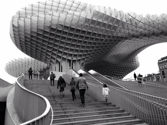 Architecture Metropol Parasol Sevilla