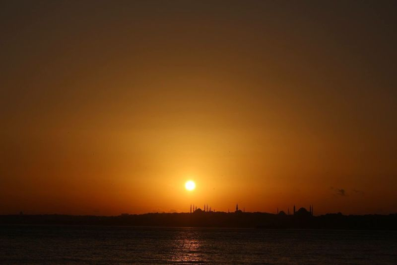 Landscape Sunset Eye4photography  Travel Sunset Silhouettes Colour Portrait Taking Photos Sunshine Turkey OpenEdit
