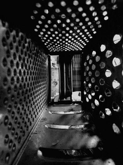 Rasp Kitchen Tools Grater Dramatic Angles Monochrome Photography Maximum Closeness