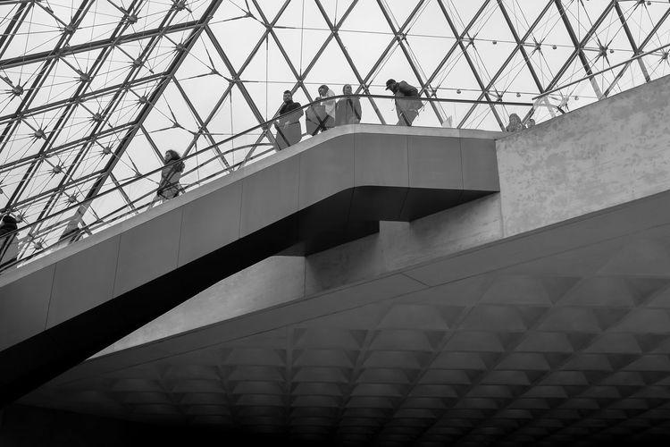 Louvre museum Arcitecture B&w Black And White Fuji Fujifilm X100 X100S Xseries
