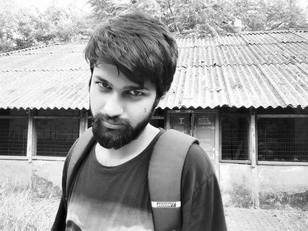 B&W Portrait EyeEm Best Shots Eye4photography  EyeEm Masterclass The Portraitist - 2015 EyeEm Awards EEA3-MUMBAI Monochrome B_w Black And White Beardnation Monochrome Photography Cityscape Mumbai India