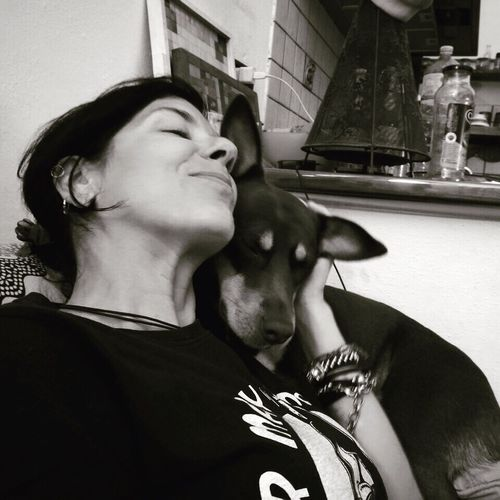 Real People Pure Love NOstressPantelleriaa Pets One Animal Happiness Dog