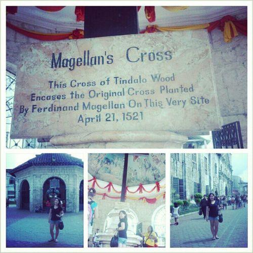 Magellanscross Basilicastonino Cebu Philippines instatravel
