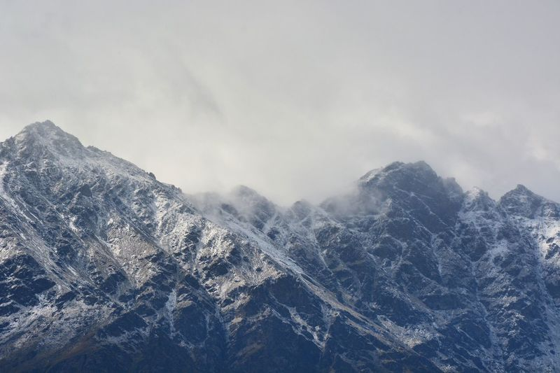 Mountains... Snow Mountain Nature Landscape Queenstown Nz Newzealand Snowcapped Bluehues Cold Temperature Weather Tranquility Beauty In Nature Scenics Tranquil Scene Sky No People Outdoors Day