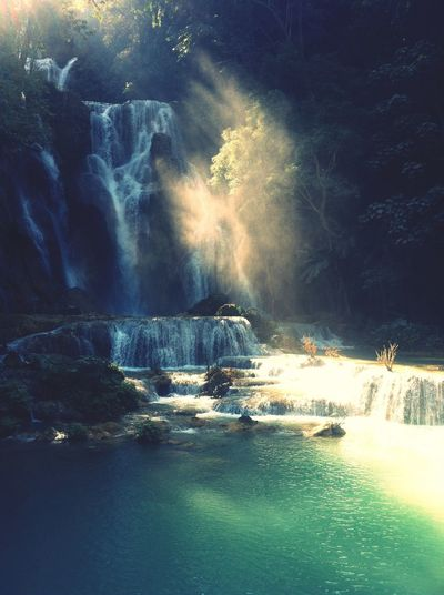 Luang Phrabang waterfalls, Laos