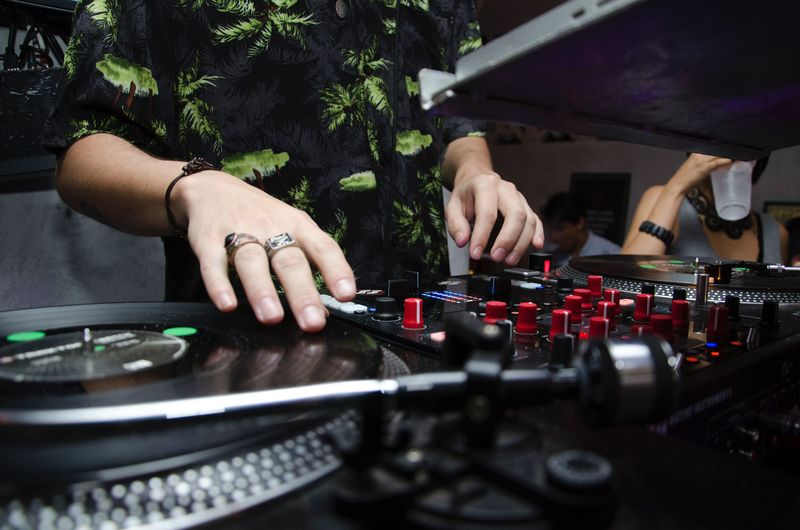 Real People Human Hand One Person Hand Human Body Part Turntable Arts Culture And Entertainment Record Leisure Activity Music Dj Occupation Selective Focus Lifestyles Club Dj Men Adult Playing Body Part Nightlife Finger Mixing