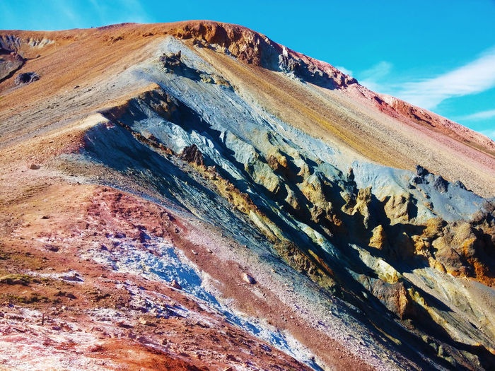 Martian Iceland Beautiful Beauty In Nature Bestoftheday Day EyeEm Best Shots Great Views Iceland Landscape Mars Mountain Multi Colored Nature No People Outdoors Red Scenics Sky Tranquility Wonderful