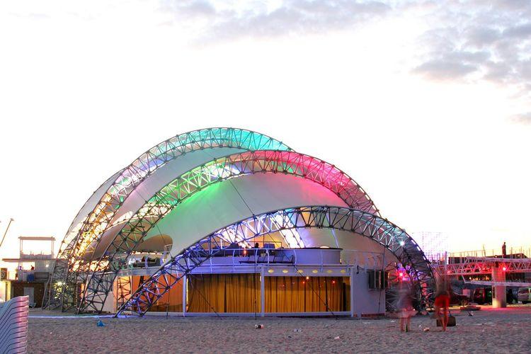 Kazantip Ukraine Popovka Festival Beach Beachphotography Sea Sky Rave Chilling Lights Art ArtWork Summer Peace