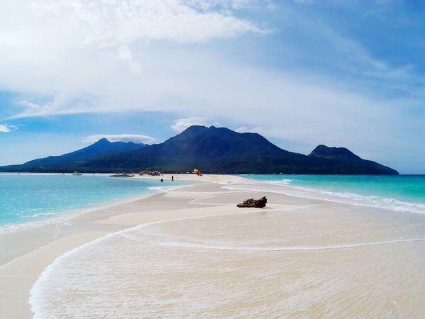 White island fronting Mt. Hibok-hibok Beach White Island Camiguin Camiguin White Island Camiguinisland Camiguin Philippines Camiguin Island