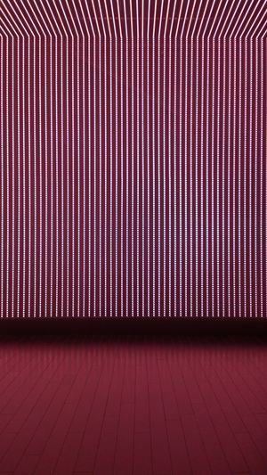 Illuminated Striped Wall