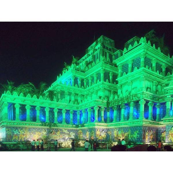 Pandal Durgapuja Lights Decoration puja celebrations india festival festiveseason
