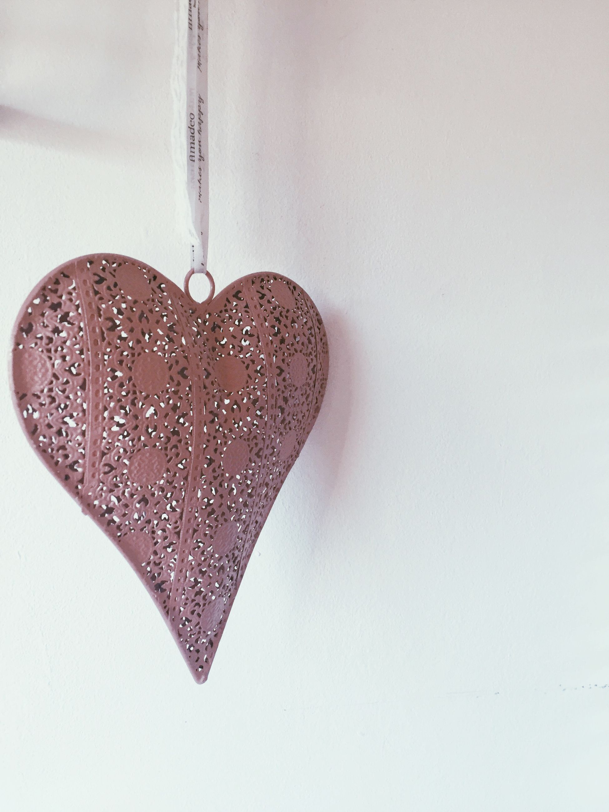 heart shape, positive emotion, love, emotion, no people, close-up, indoors, copy space, design, wall - building feature, still life, hanging, studio shot, creativity, white background, decoration, pattern, shape, art and craft, food, temptation, floral pattern