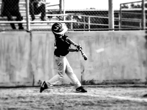 Capture The Moment Baseball Swing Batter Batter Monochrome EyeEm Best Shots - Black + White EyeEm BlackandWhite Eyeem Popular Photos Check This Out Snapshots Of Life Baseballnights