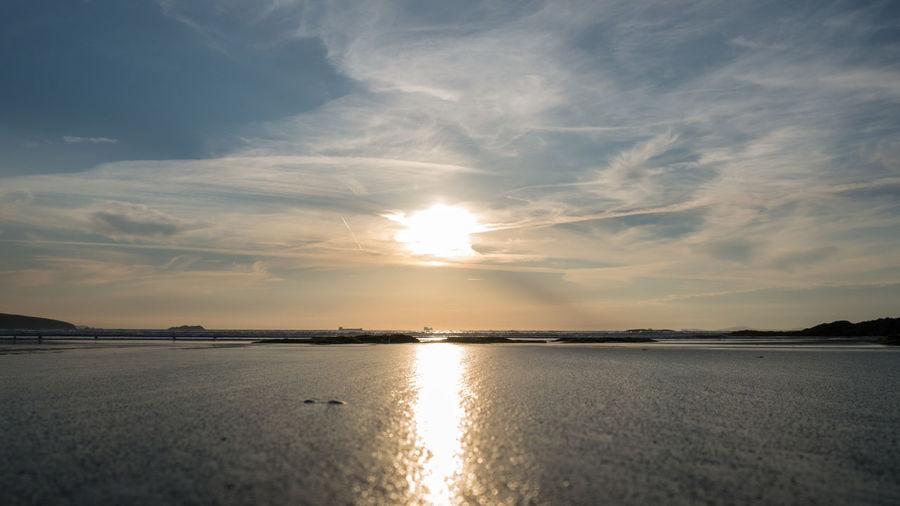 Beach Evening Sand Sand & Sea Sea Sea And Sky Seascape Sky Sky And Clouds Sun