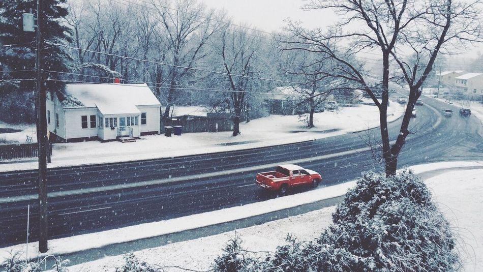 Snow the other day Snow Car Like Followme