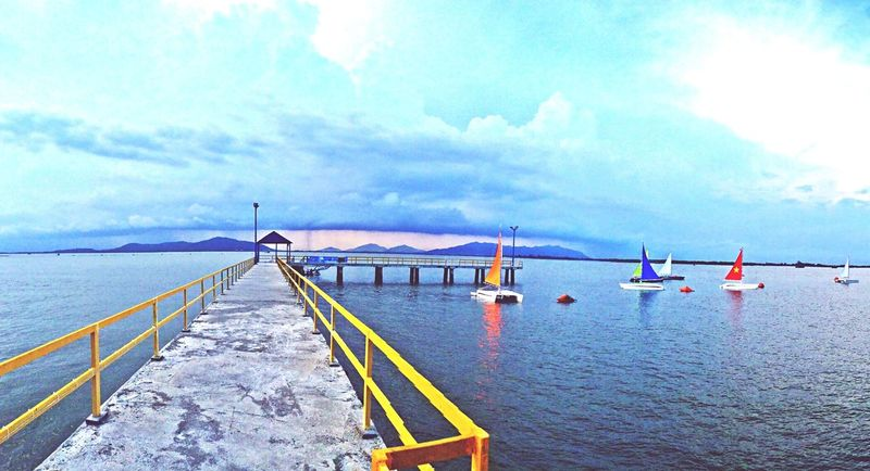 Somewhere in Vung Tau city First Eyeem Photo Bridge Beach Sunset Love
