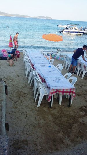 Beach Sea Sand Adult Adults Only Water Full Length Only Men One Man Only Day People Outdoors One Person Men Nature Young Adult Sky Only In Greece The Greek Way