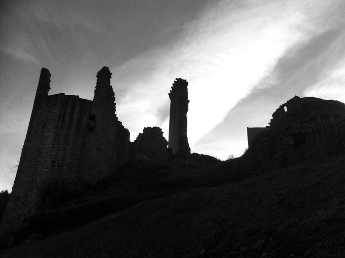 Silhouette Black And White Collection AMPt - Memory Castle