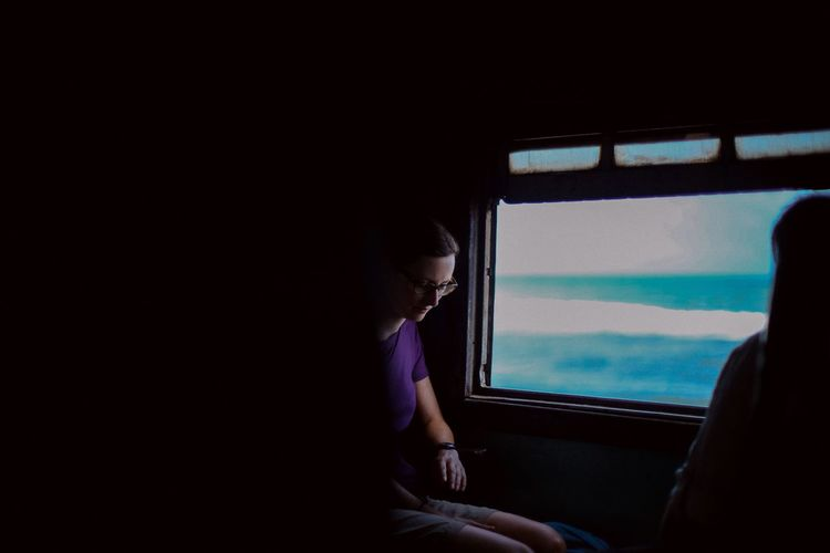 On the train from Galle to Colombo Train Onthetrain Serenity Seaside Sri Lanka Sommergefühle Let's Go. Together. Let's Go. Together. EyeEm Selects Breathing Space Been There. Be. Ready. See The Light An Eye For Travel Inner Power Summer Exploratorium Focus On The Story The Traveler - 2018 EyeEm Awards