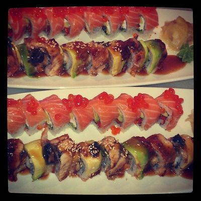 Philadelphia Roll, House Roll, Kaisonsushi Antalyadayasam Antalyaturkey Sushi tai gurme
