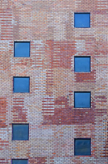 Brick wall texture Architecture Backgrounds Brick Wall Building Building Design Building Exterior Built Structure Wall - Building Feature Wall Textures Window Window Designs The Graphic City The Architect - 2018 EyeEm Awards