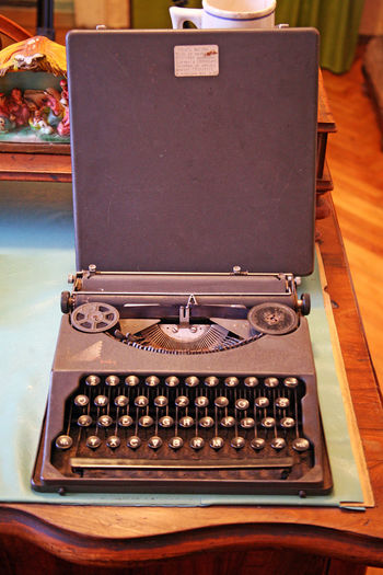 Beatified Cardinal Alojzije Stepinac,Krasic sanctuary,his typewriter,Croatia,Europe,2 Alojzije Cardinal Stepinac Catholicism Christianity Croatia Eu E ELe... Europe Krasic Stepinac Stepincevo Beatified Birth Close-up Culture History Indoors  Inmemoriam Memorial Museum Old-fashioned Religion Retro Styled Sanctuary  Typewriter
