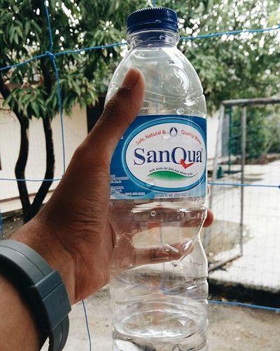 Minum Air Sanqua ☺