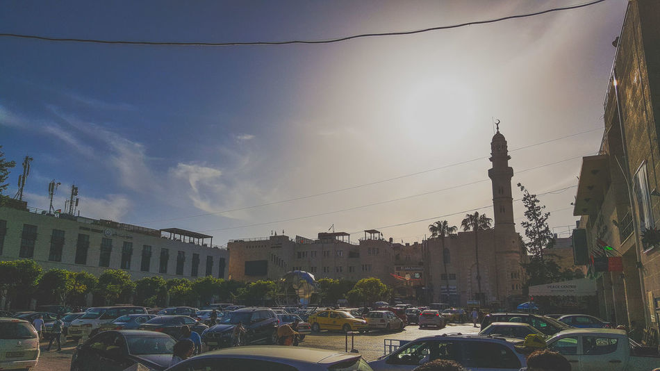 Israel Bethlehem EyeEm Best Shots Sky And City Skytree Rear View City View  Blue Sky EyeEmNewHere Sillouette Rare Beautiful View EyeEm Selects City Water Pixelated Spraying Cityscape Tree Sunset Drop Wet Sky