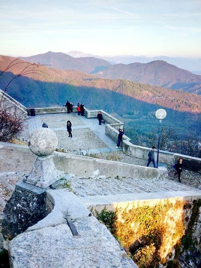 Stairs Mountain View Landscape_photography In Front Of Me Outdoor Photography