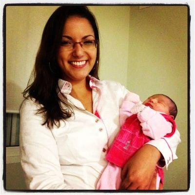 Filha da minha querida amiga Barbara Lainy. Depois de tanto tempo, finalmente nos encontramos na maternidade.
